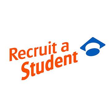 recruit a student logo